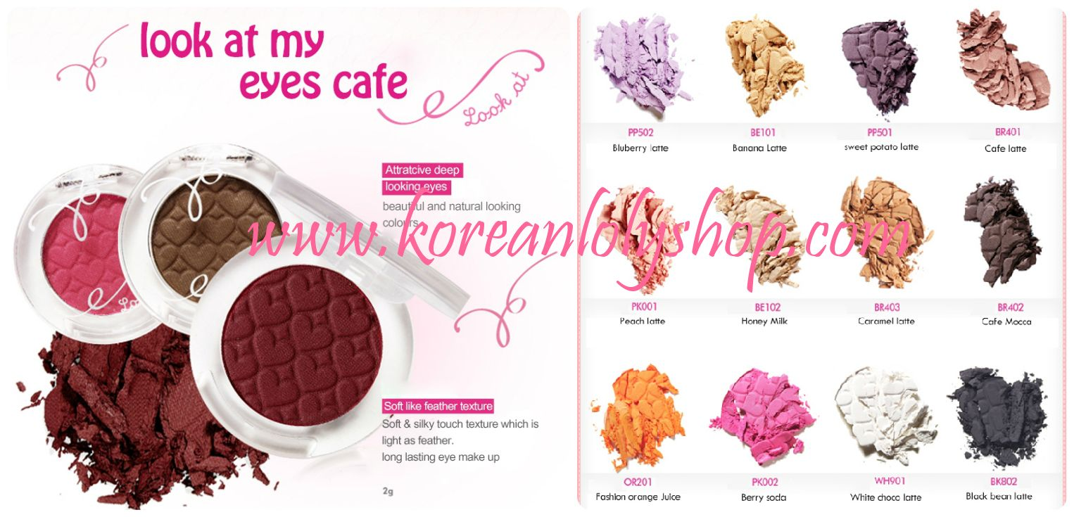 Etude House Look at My Eyes Café menciptakan tampilan mata