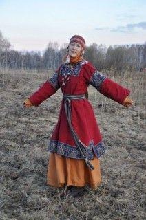 Beautiful Slav costume from Russian reenactor. А вы думали в сказку попали? - Славянский костюм 11 века