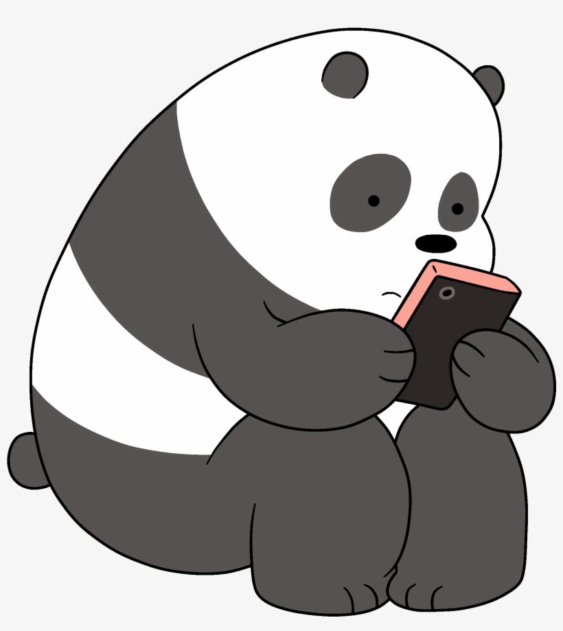 Banner Transparent Download Image Png We Bare Bears Panda We Bare Bears Png Transparent Png Ilustrasi Karakter Kartun Png
