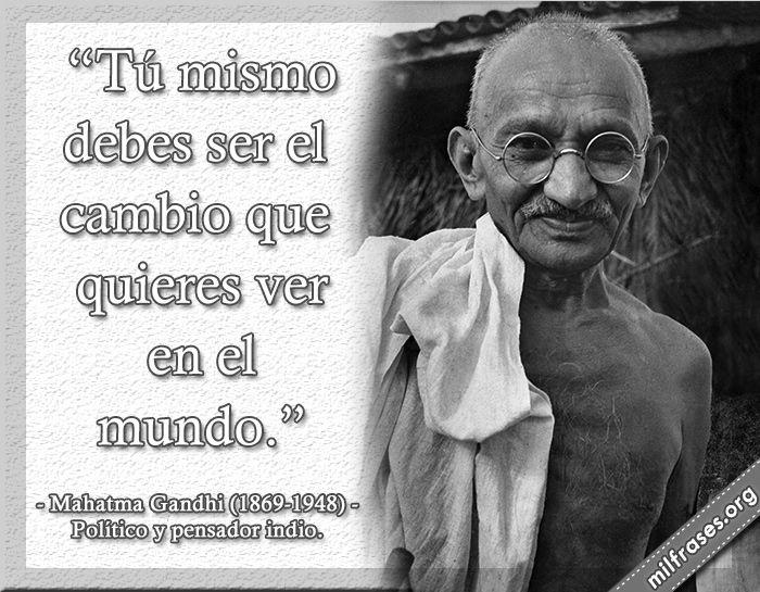 Mahatma Gandhi Político Y Pensador Indio Mahatma