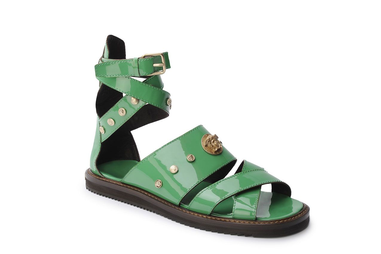 Versace Sandals for Men's Spring Summer 2012 #green #versace #men #look #summer #sandals