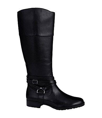 Lauren Ralph Lauren Savion Riding Boots #Dillards