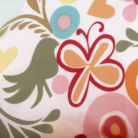 Lizzie Colorful Flower Fabric | Cotton Tale Designs