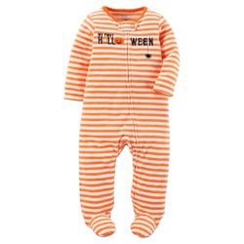 Made by Carter/'s-Newborn Just One You Baby Pumpkin Ghost Print Sleep N/' Play