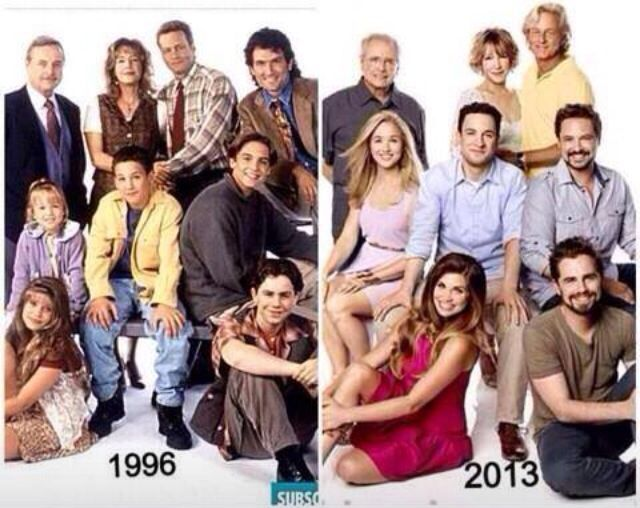 Then Cast Girl Now Meets World And