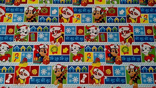 Paw Patrol Wrapping Paper Christmas Gift Wrap 1 Roll 70 Sq Ft