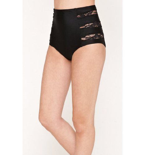 pacsun high waisted lace cutout bikini bottoms just ordered these bad boys   ) d41225122b6c