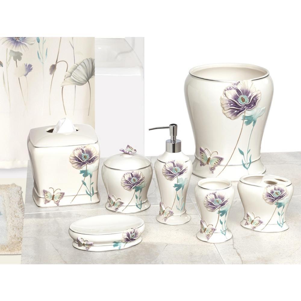 Creative Bath Garden Gate 10-Piece Ceramic Bath Accessory Set with