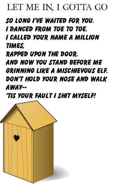 Outhouse poetry