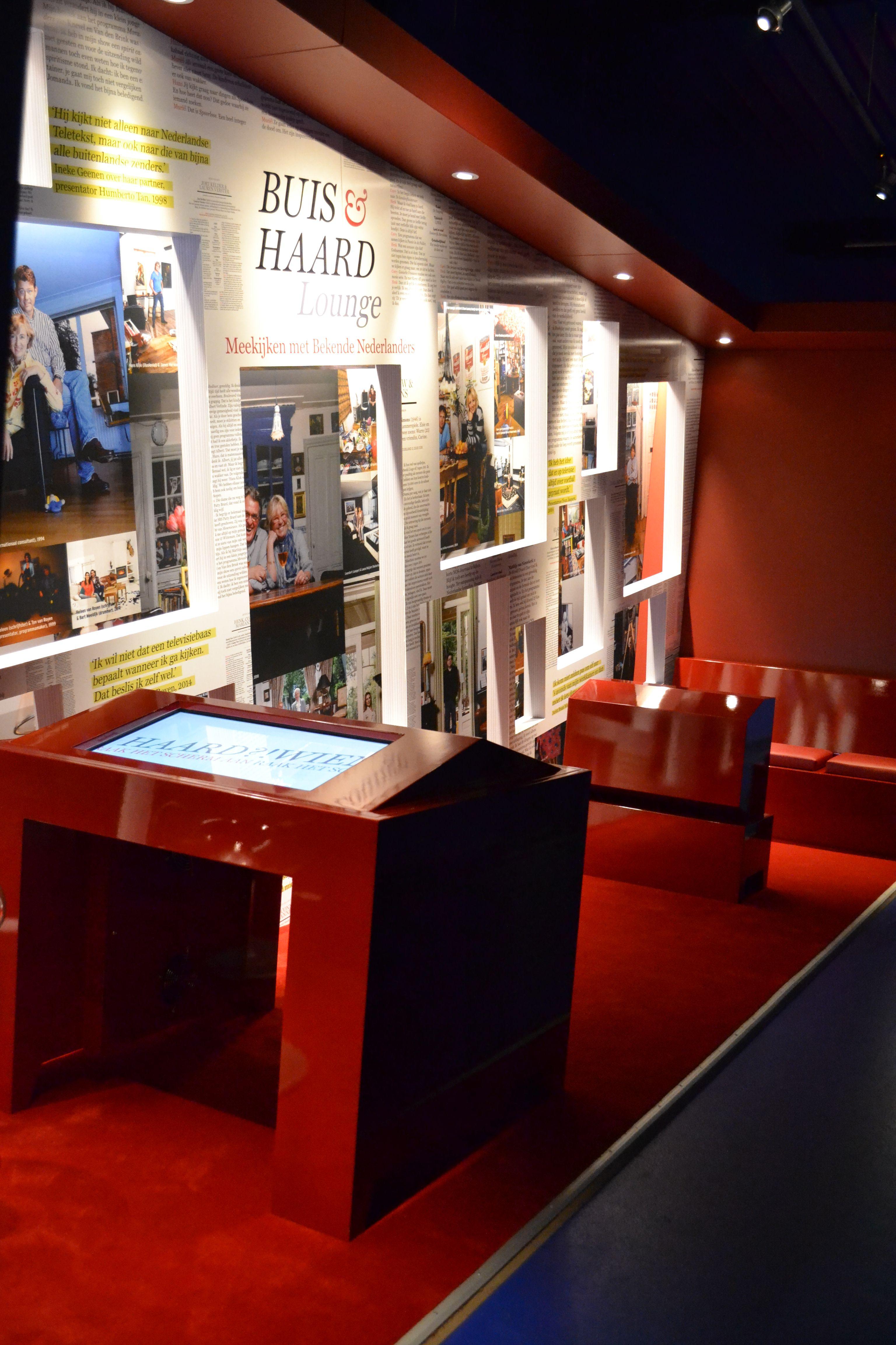 Buis & Haard Lounge // Beeld en Geluid experience