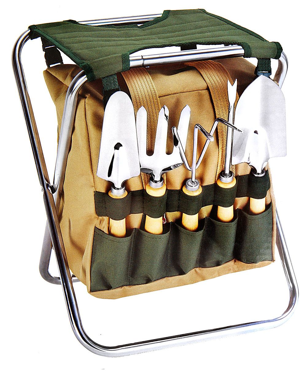 Garden Tote Seat for Mom or Dad Best garden tools