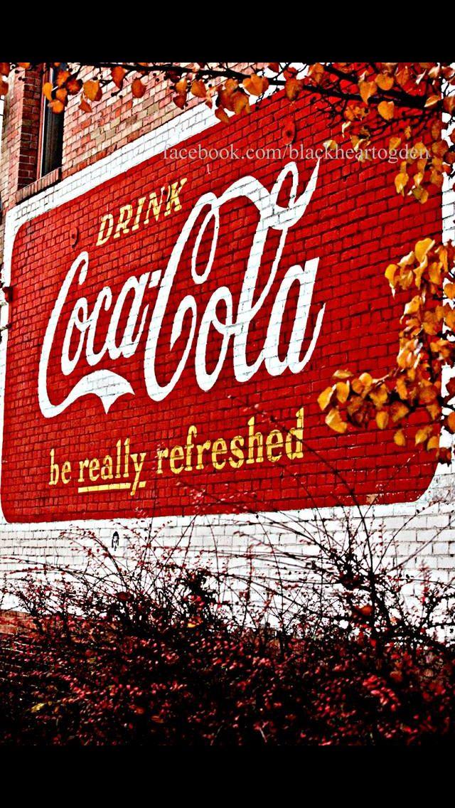 Coco cola brick wall mural ogden utah coca cola for Coca cola wall mural