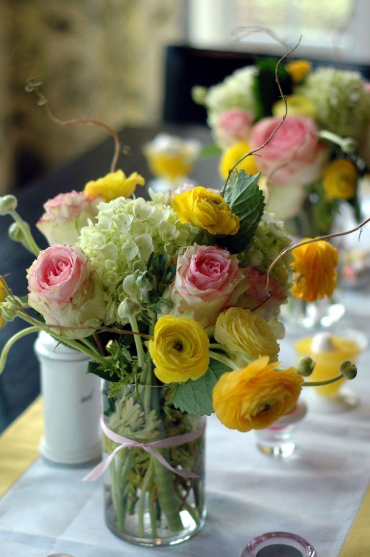 Deco De Table Paques Avec Des Fleurs En 48 Idees Inspirantes