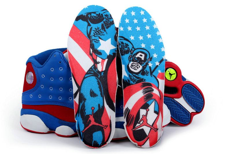 premium selection e5ecb 4167c Air Jordan 13 Captain America