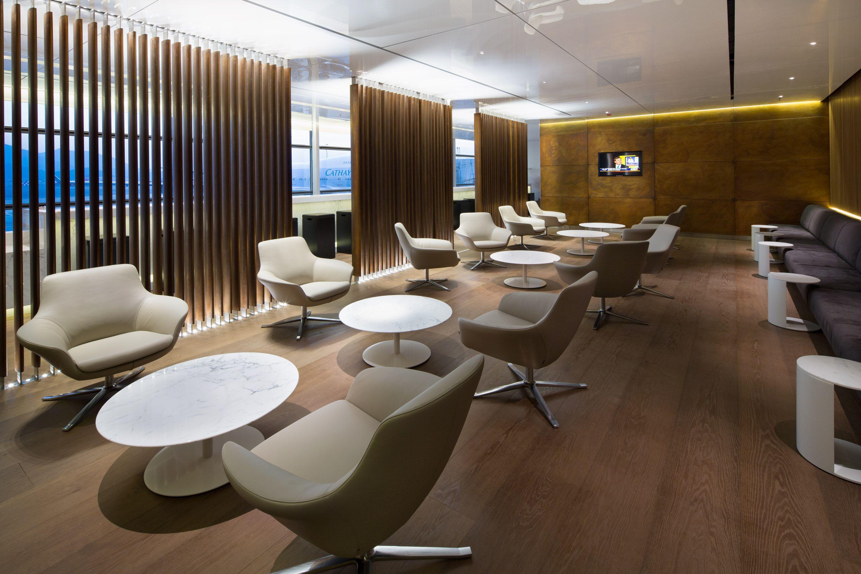 Cathay Pacific's New 'Bridge' Lounge At Hong Kong
