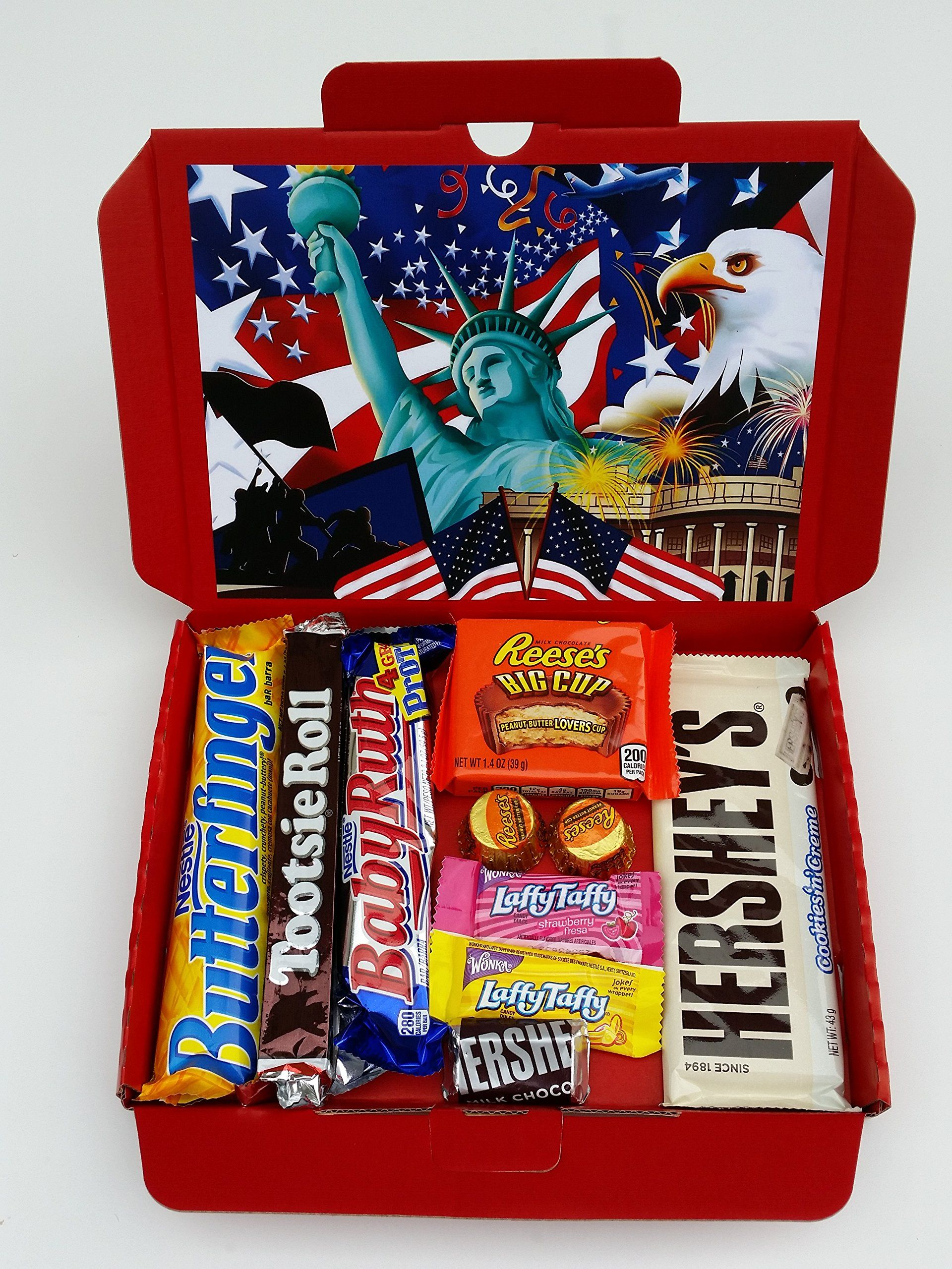 American Chocolate Selection Box Sweets Candy Gift Box