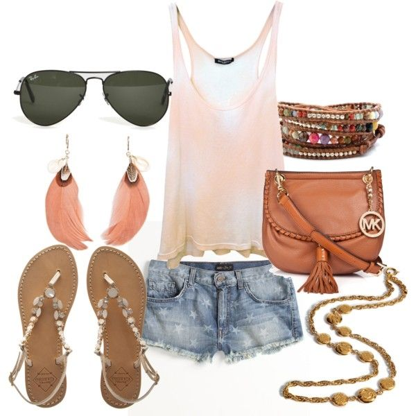 casual/chic summer outfit