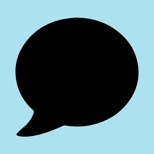 Blue And Black Messages Icon App Icon Ios Icon Iphone Photo App