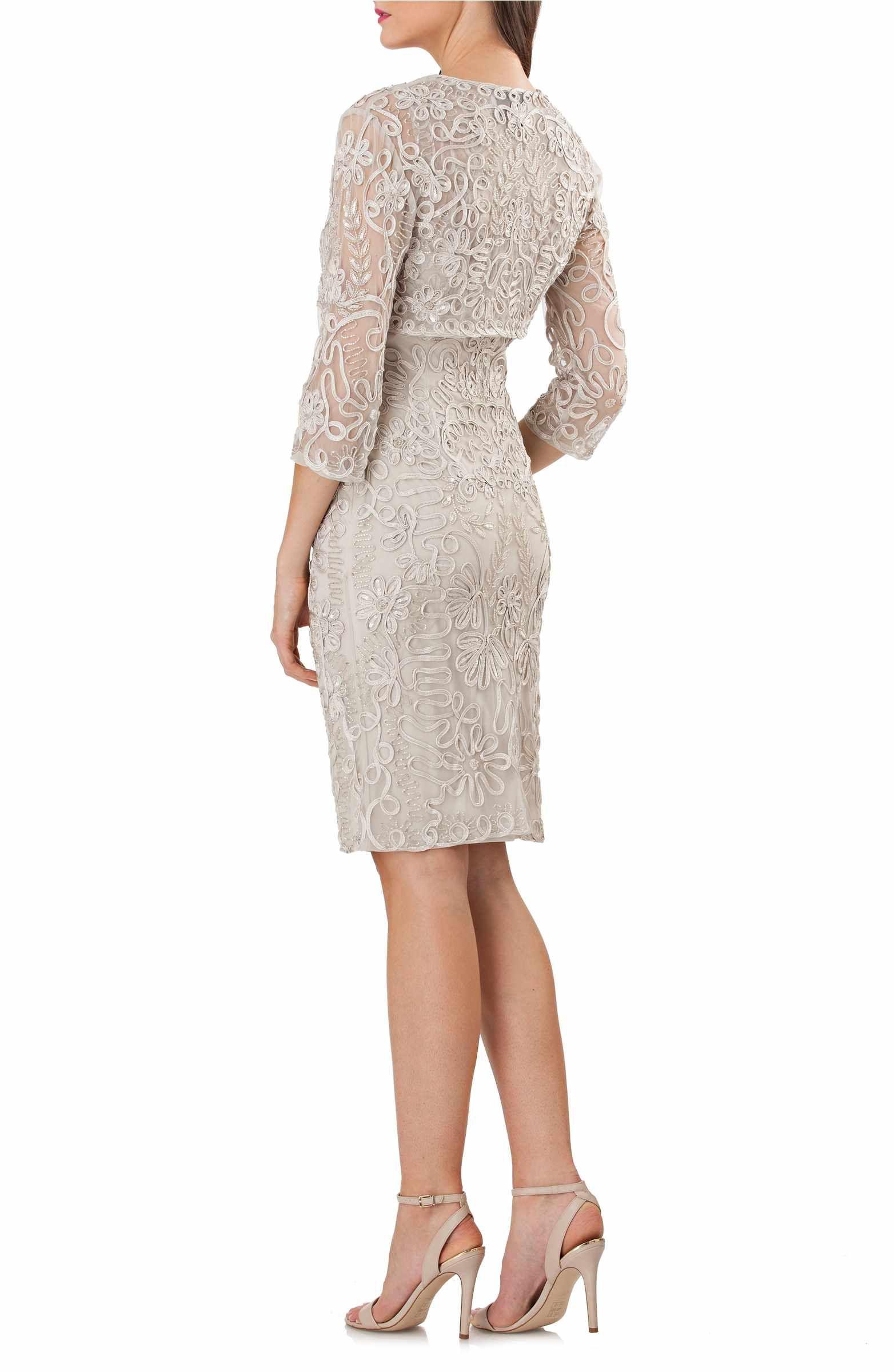 Main Image - JS Collections Soutache Bolero Sheath Dress | Mother of ...