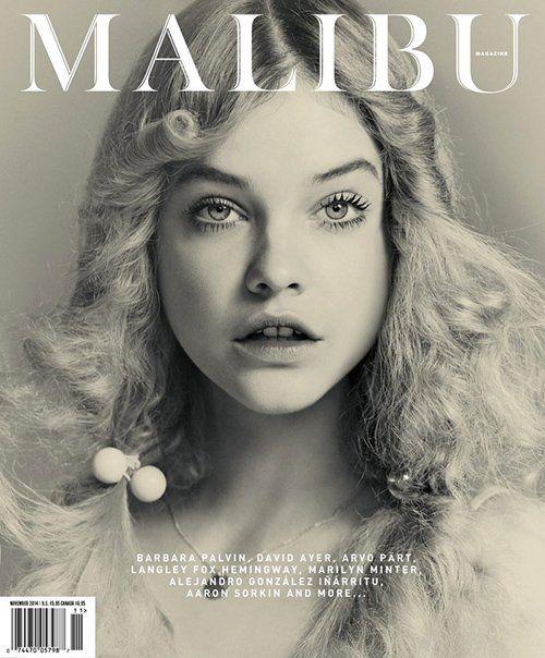 Barbara Palvin capa da edição de novembro da revista #Malibu http://goo.gl/fb/Ib6uYY