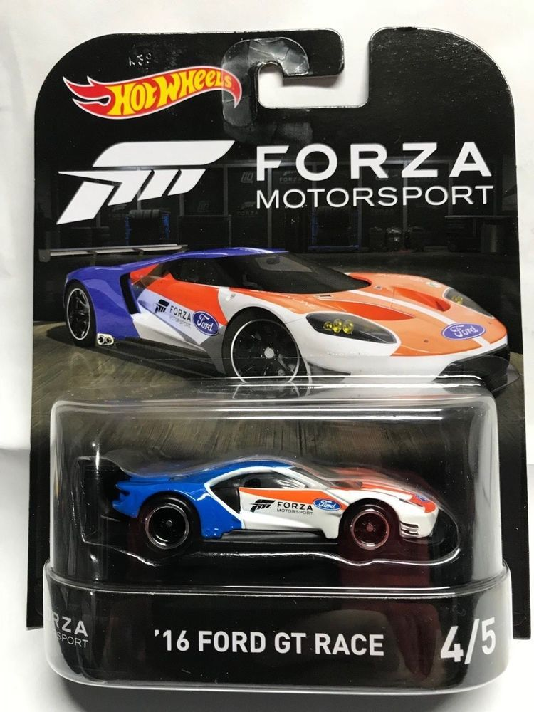 2016 Ford Gt Race 1 64 Hot Wheels Retro Forza Motorsport Series