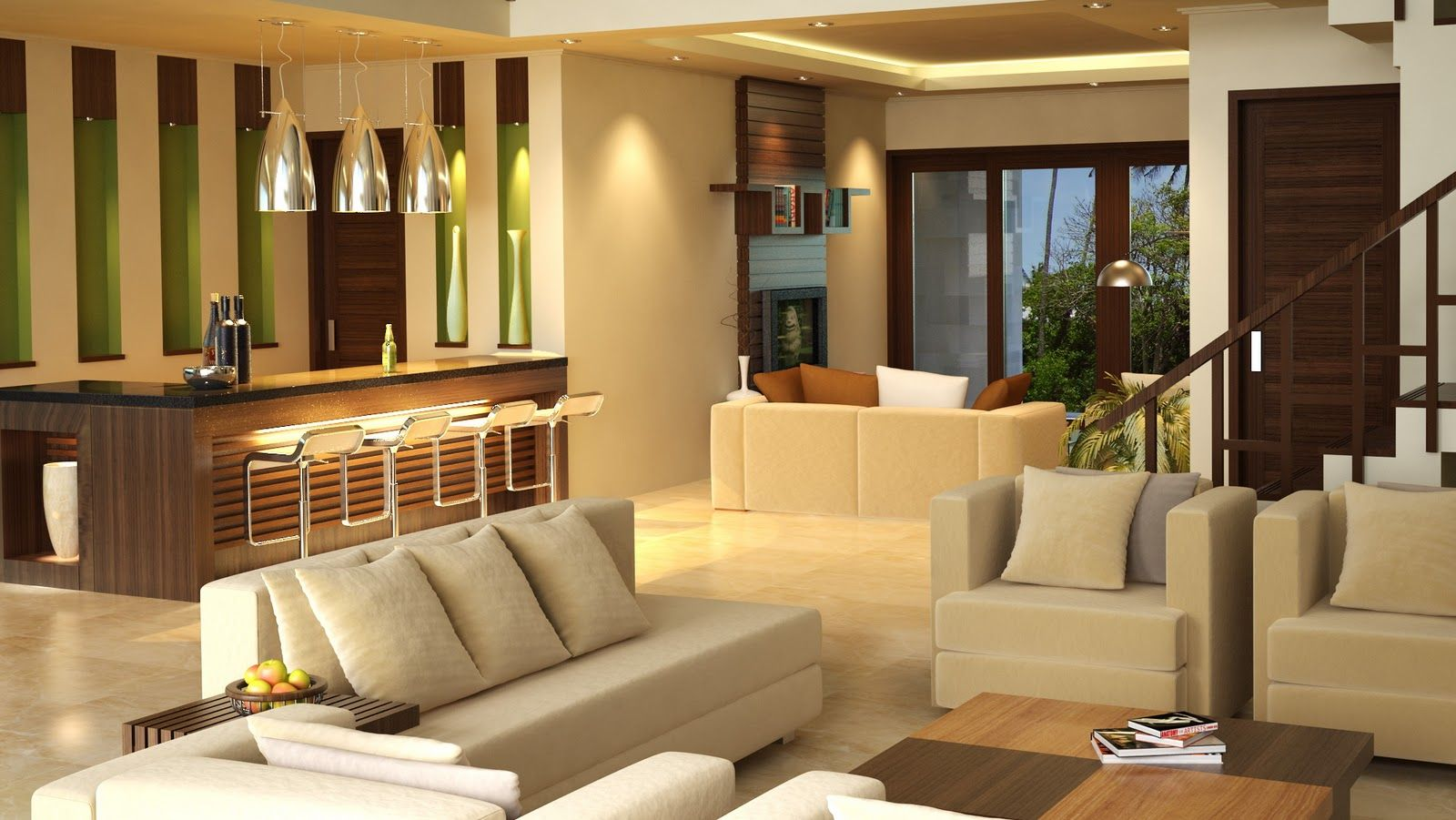 Contoh Desain Interior Rumah Minimalis Desain Interior Interior Rumah