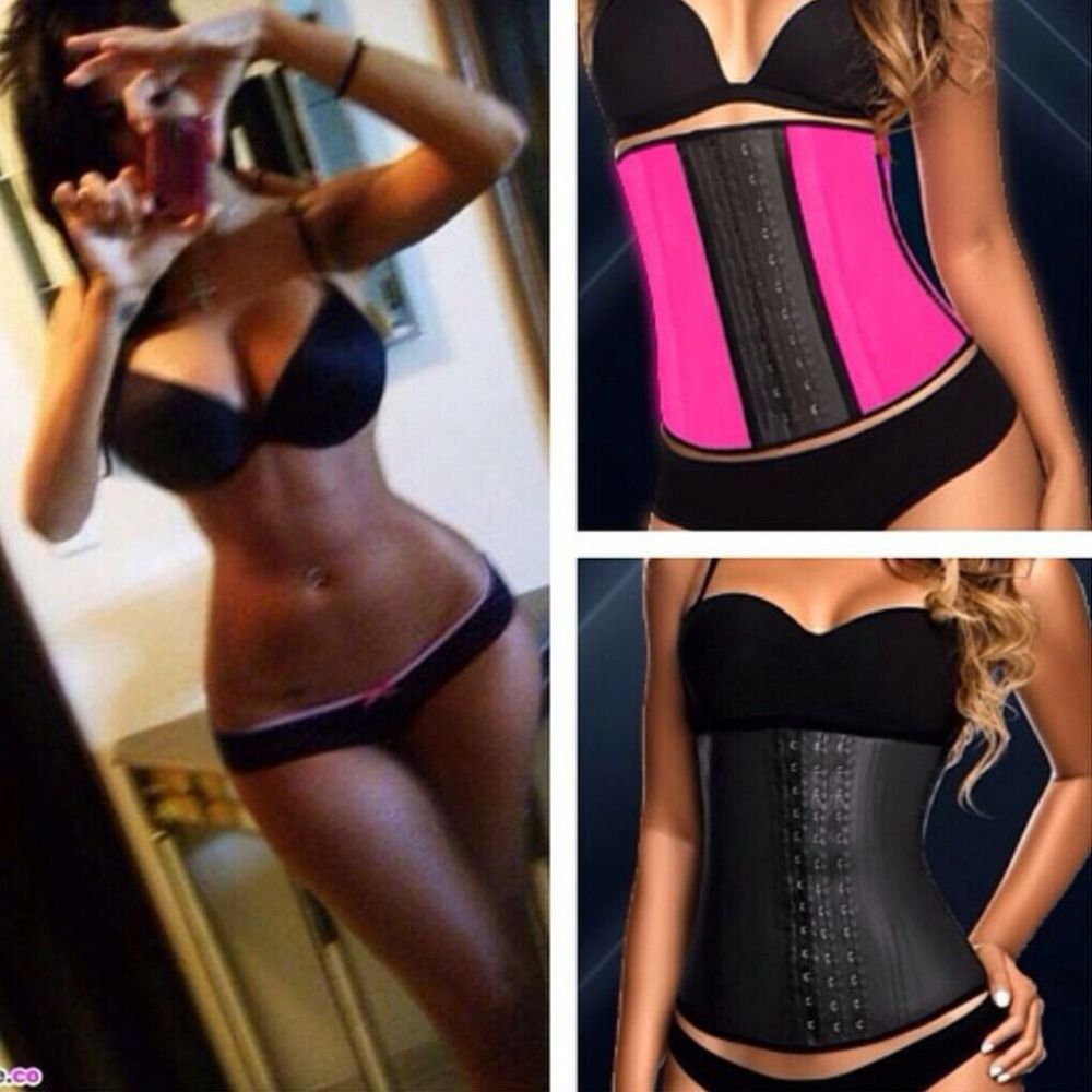 Corset training photos after and before