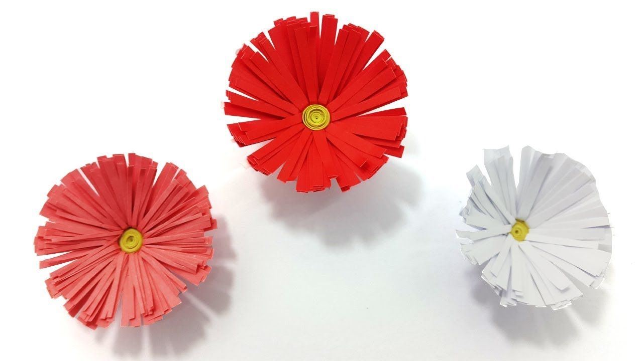 How To Make Diy Paper Flowers Best Easy Clear Instruction Origami