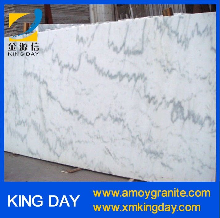 China Guangxi White marble slab
