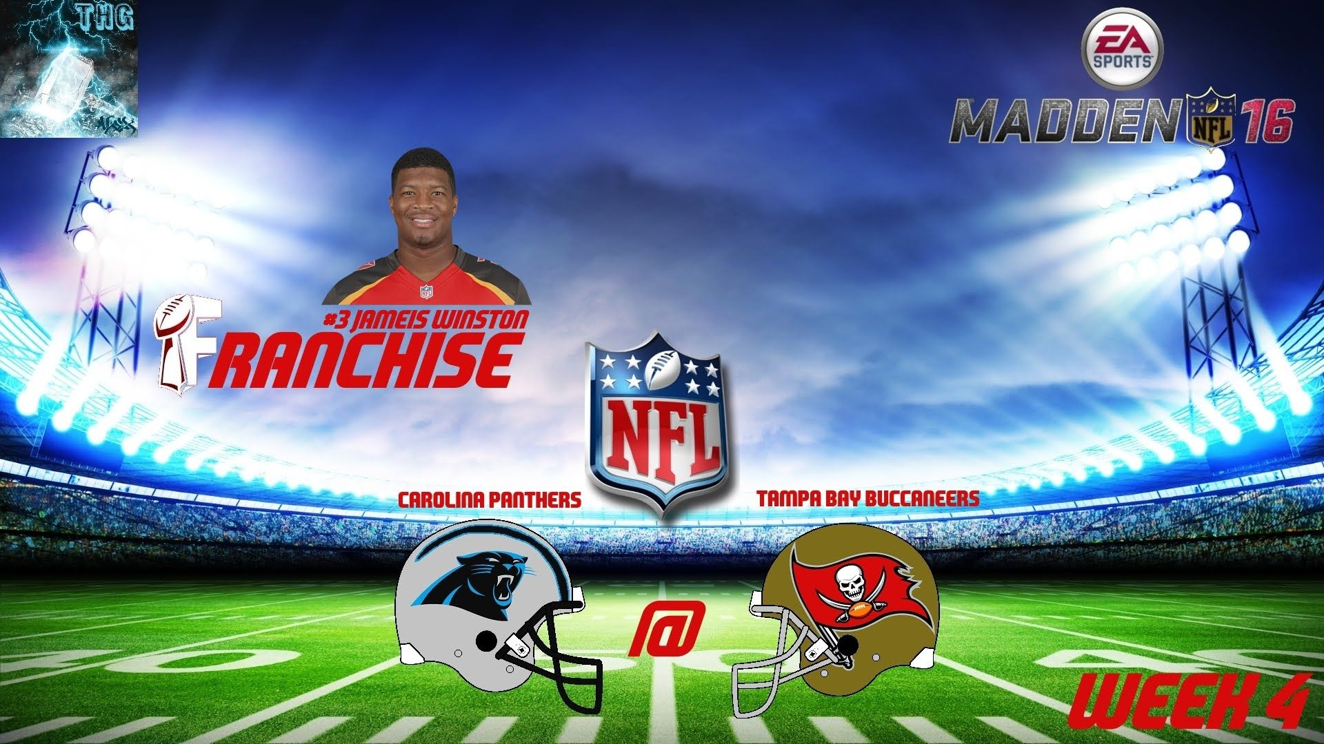 """Let's Play Madden NFL 16 #004 """"Bissige Panthers"""" [XBOX One Gameplay,Deut..."""