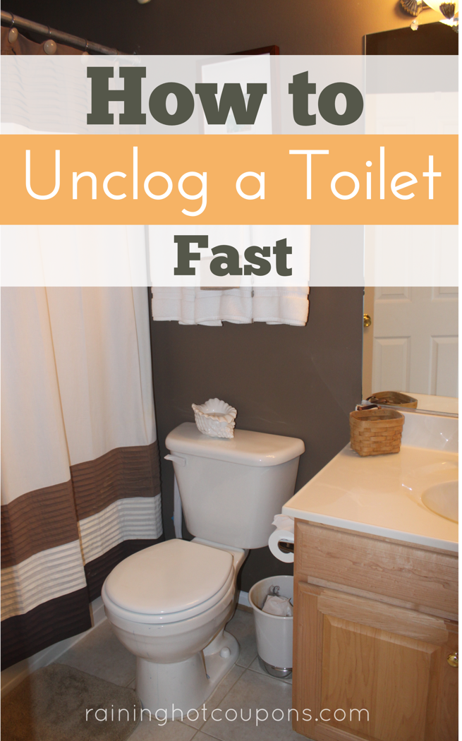 how to unclog a toilet fast frugal tips tricks from raining pinterest toilet household. Black Bedroom Furniture Sets. Home Design Ideas