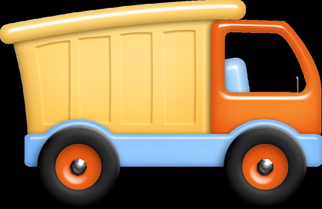 Картинка грузовой машины для детей на прозрачном фоне