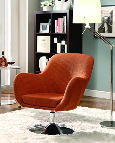 Coaster Home Furnishings 902148 Contemporary Swivel Chair With