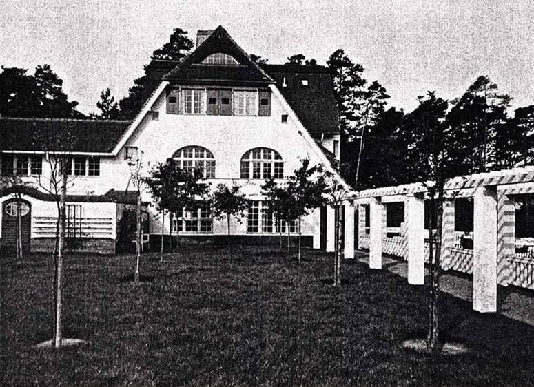 H Muthesius, Haus Muthesius, Berlin (Potsdam), 1906-1909