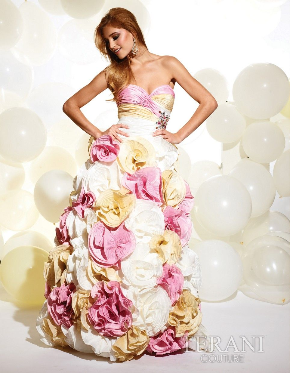 crazy I know but I think if I renew my vows I will BE the bouquet in this dress!  :o)