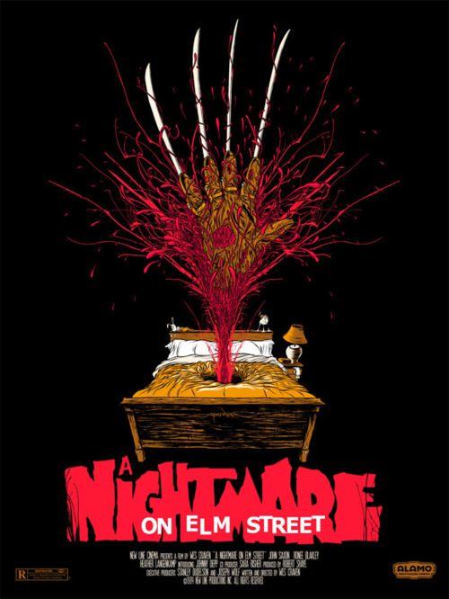 A Nightmare on Elm Street ALT black Movie Shirt