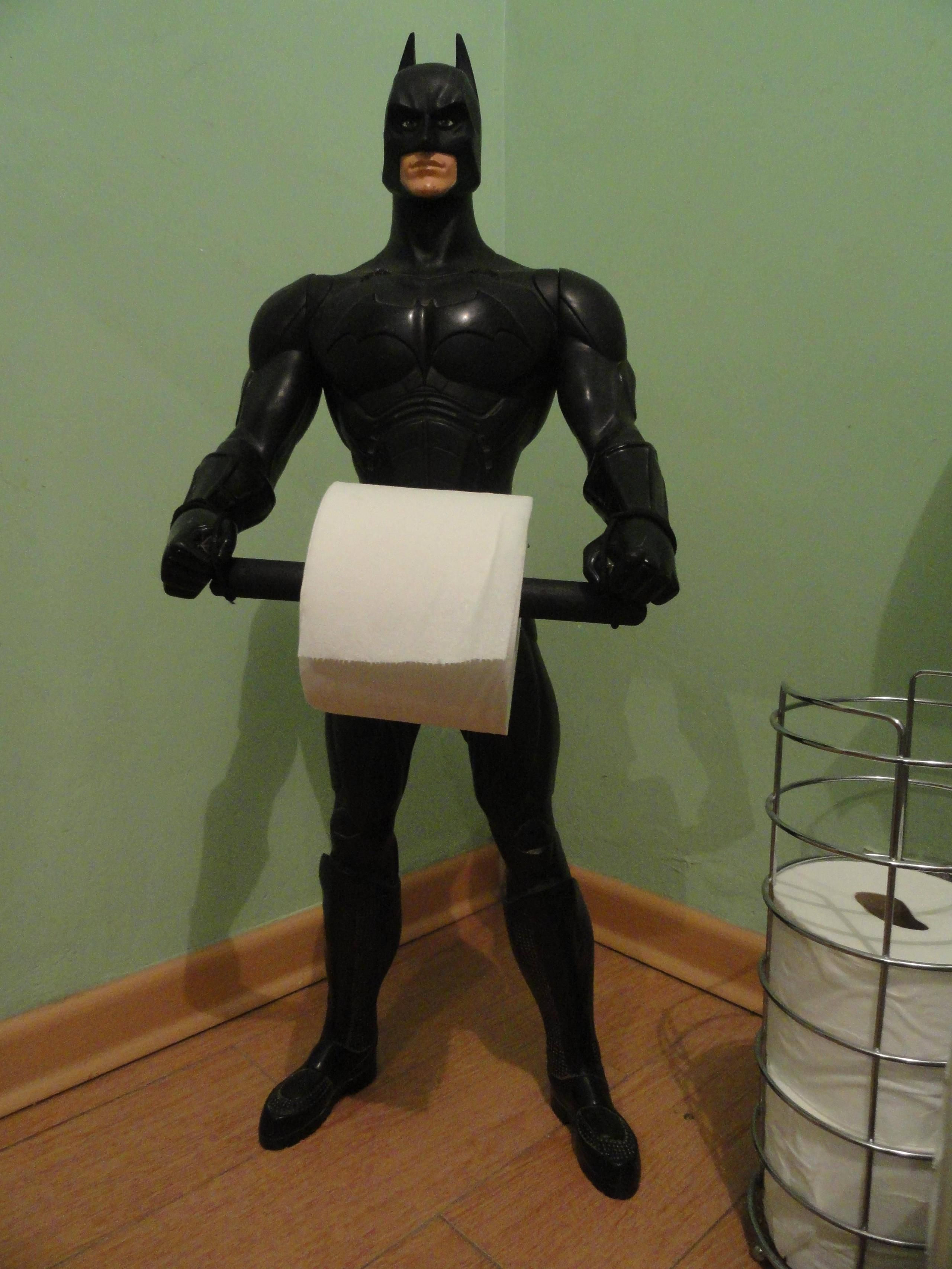 Your Batman Toilet Paper Holder Inspired Me To Do This