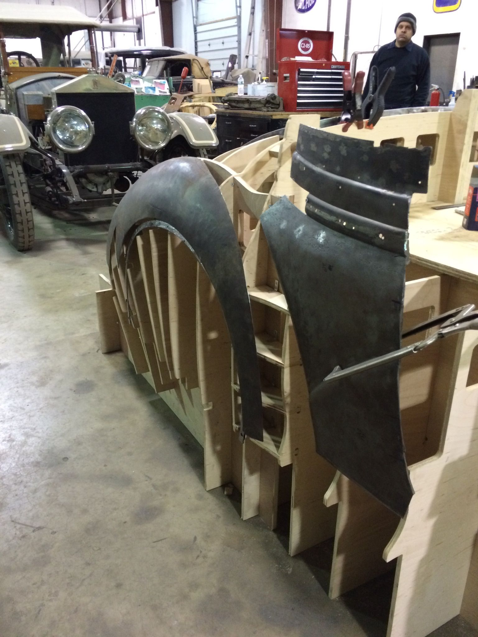 Original Parts On Perfect No Fastener Coachbuilding Buck Custom Metal Fabrication Metal Shaping Concept Car Design