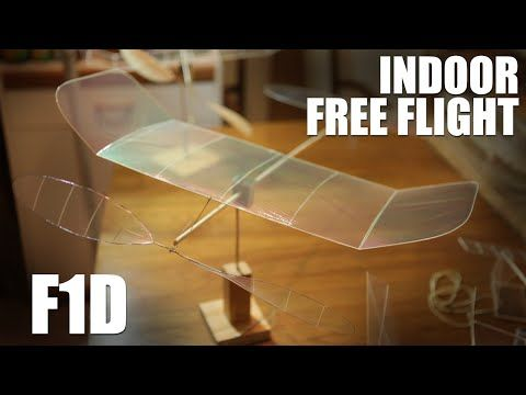 F1d Indoor Free Flight Ultra Light Rubber Band Ed