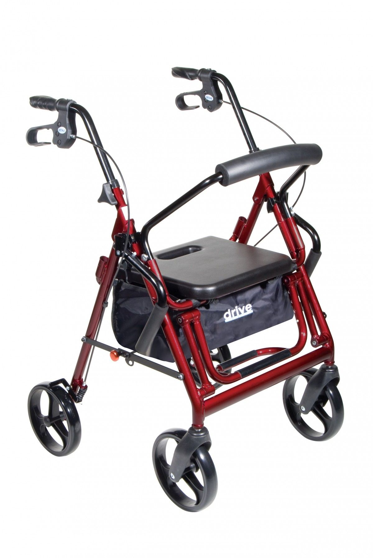 Drive Duet Rollator/Transport Chair Transport wheelchair