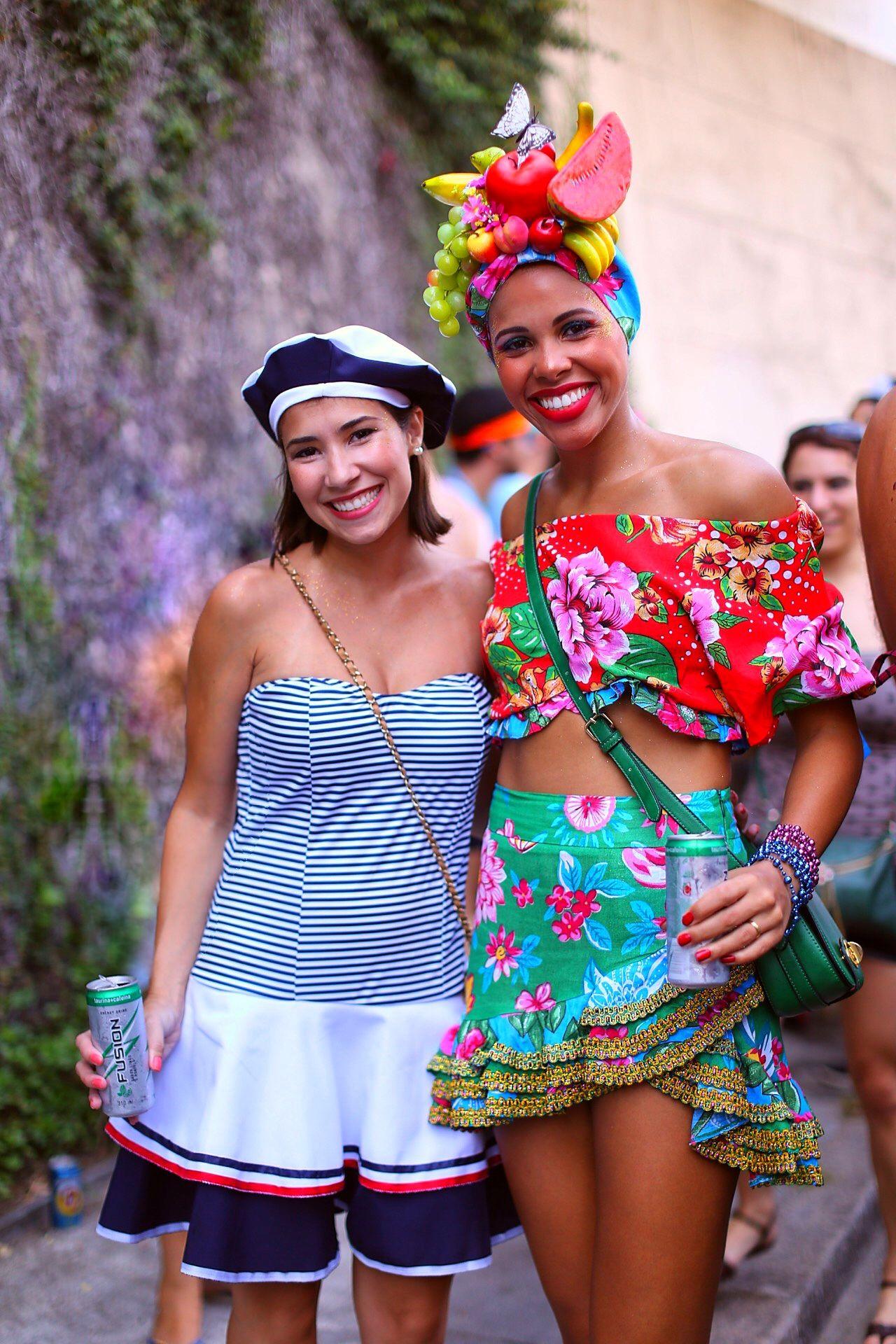 carnaval: fantasias dos blocos de rua do rio de janeiro