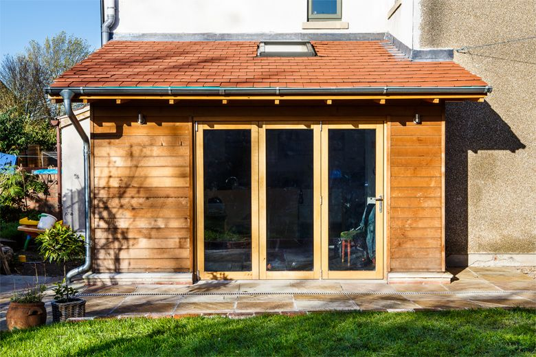 timber clad side extension - Google Search