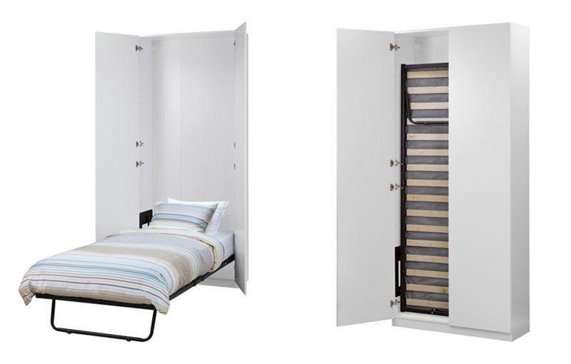 Es posible dormir en una cama plegable y c moda cama - Hacer armario empotrado ikea ...