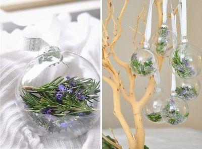 Bolas de navidad transparentes decoradas christmas stuff - Bolas transparentes para decorar ...