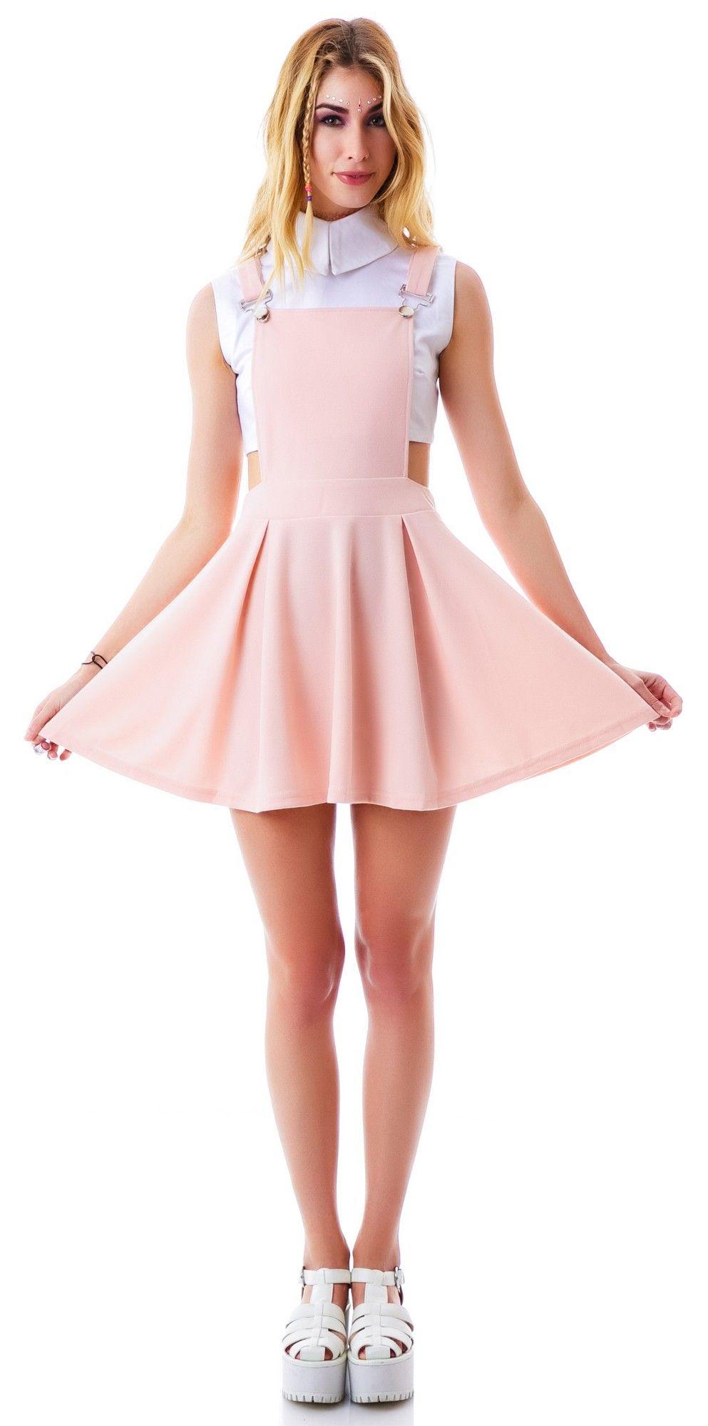 Cecico Good Girl Suspender Dress   Dolls Kill