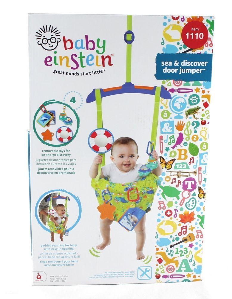61401599bdc8 Door Jumper Baby Einstein Sea   Discover Baby Bouncer - New ...