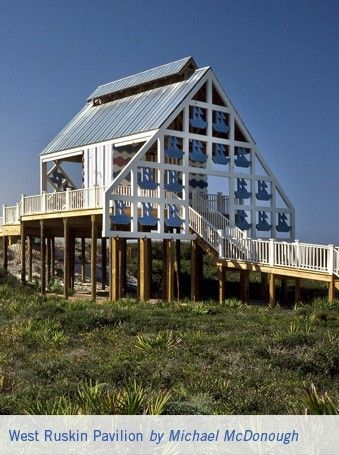 West ruskin pavilion by michael mcdonough seaside fl the for Architectural concepts pensacola florida