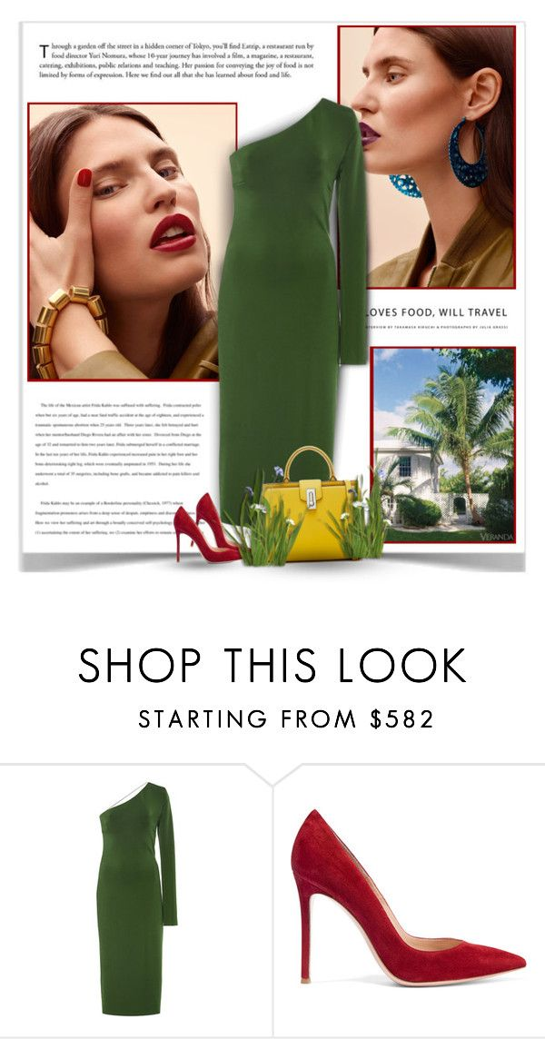 """""""14.08.2016"""" by bliznec-anna ❤ liked on Polyvore featuring Cushnie Et Ochs, Gianvito Rossi, India Hicks, cocktaildress, polyvoreeditorial and polyvorefashion"""