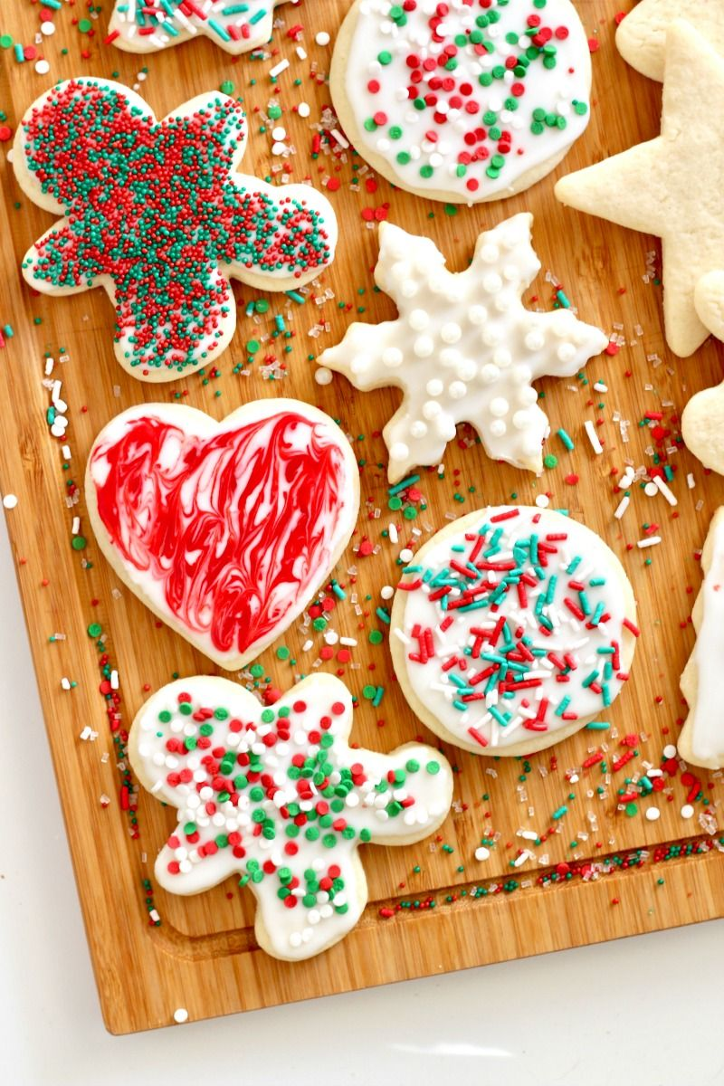 Easy Chewy No Chill Cut Out Sugar Cookies That Are Perfect To