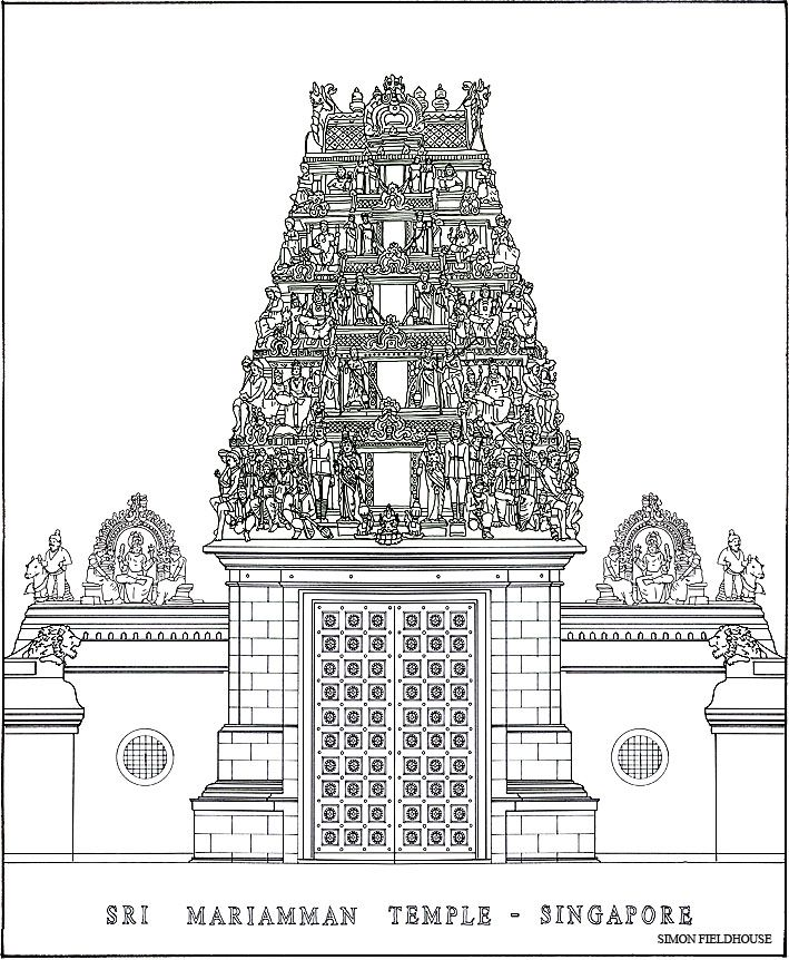 Hindu Temple Drawing Google Search A2 Personal Study Pinterest